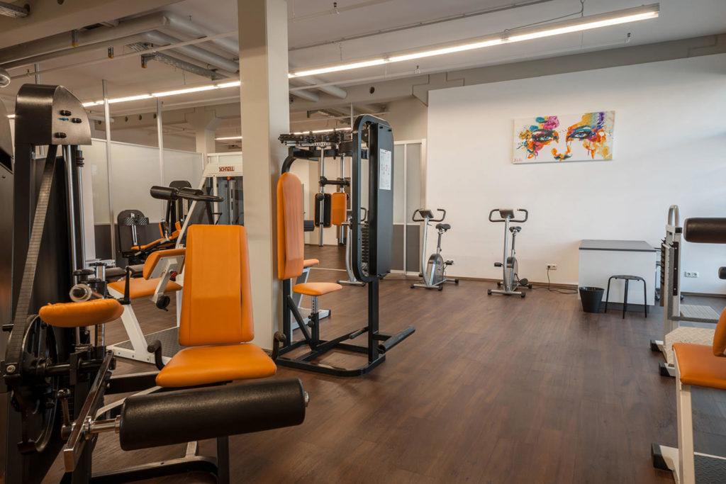 PHYSICS Trainingsraum