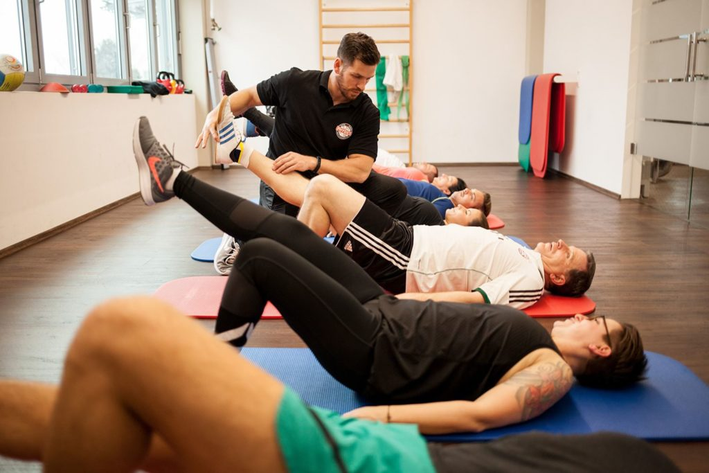Physiotherapie und sportive Trainingstherapie für Griesstätt - PHYSICS