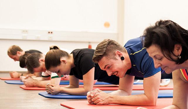 Neuer Kurs Pilates