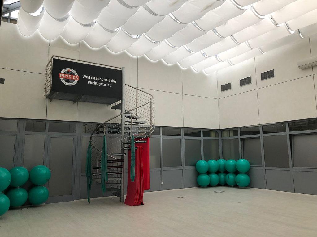 Trainingsraum PHYSICS Wasserburg