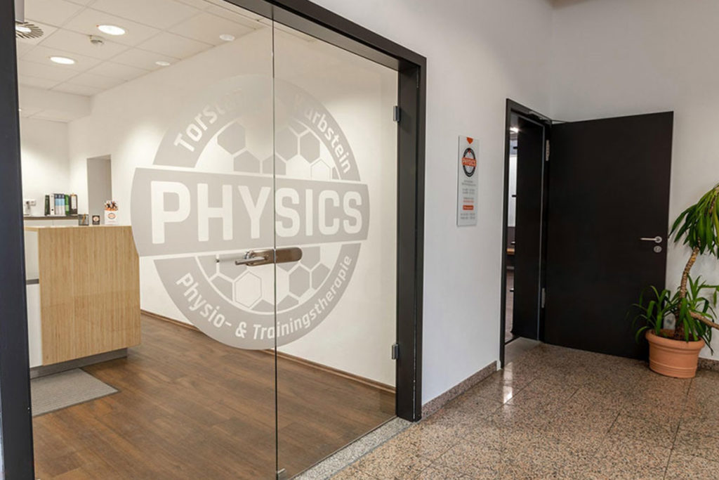 Eingang Physiotherapie Vogtareuth