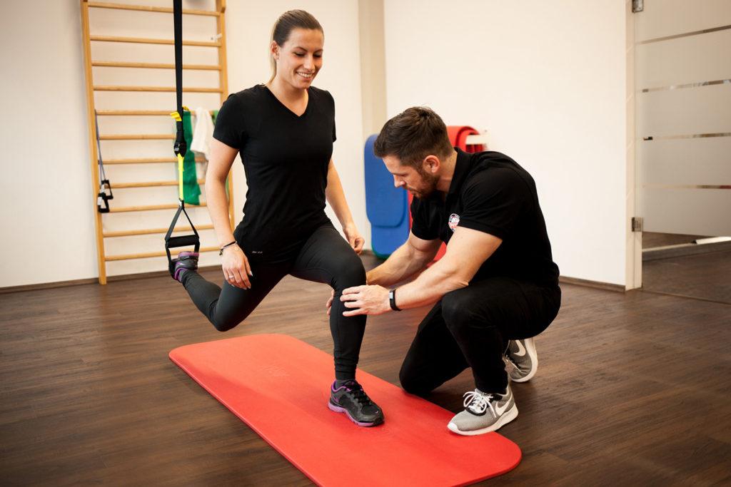 Physiotherapie und Trainingstherapie für Schnaitsee - aktive Physiotherapie