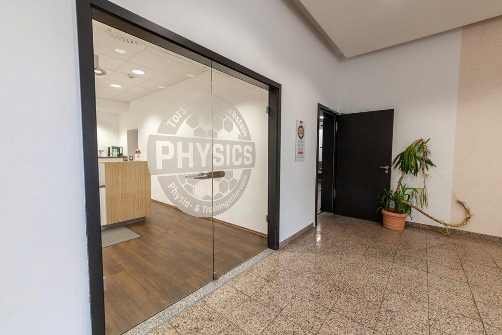 Physics Eingang - Physiotherapie für Ramerberg